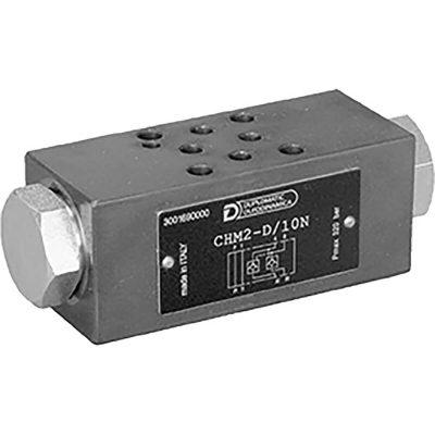 ISO 4401-02 p max 320 bar Q max 30 l/min Vezérelt visszacsapószelep közlap CETOP R02
