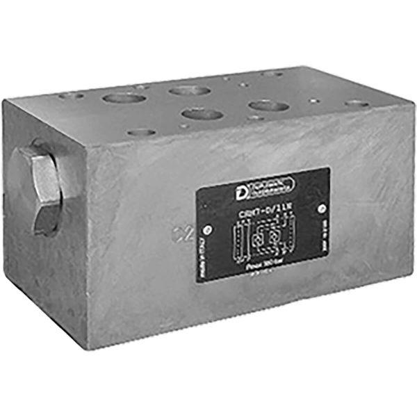 ISO 4401-07 p max 350 bar Q max 300 l/min Vezérelt visszacsapószelep közlap CETOP 07