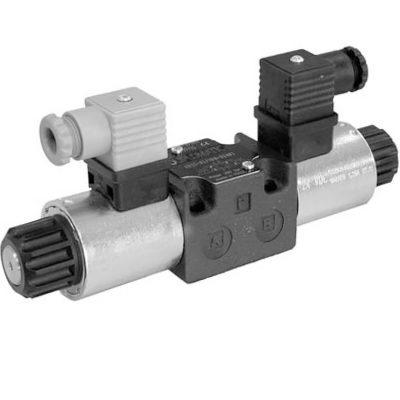 Közvetlen működtetésű útszelep arányos mágnessel ISO 4401-03 p max 350 bar Q max 40 l/min