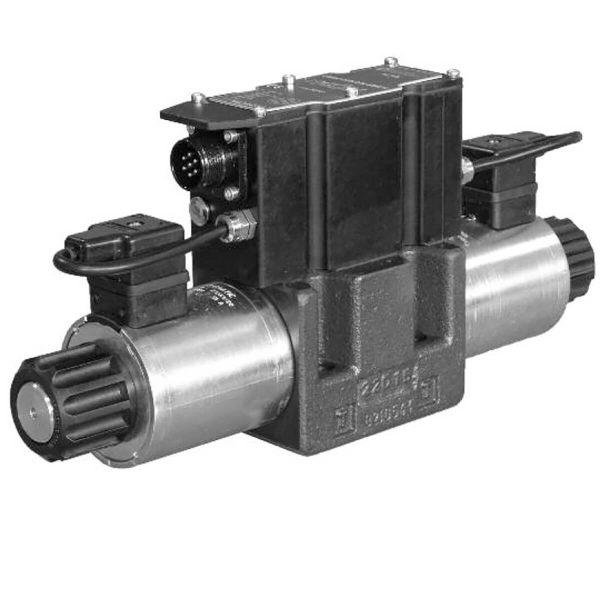 Közvetlen működtetésű útszelep arányos mágnessel, ráépített elektronikával CETOP 05 ISO 4401-05 p max 320 bar Q max 90 l/min