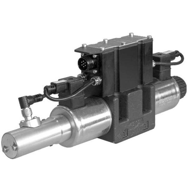 Közvetlen működtetésű útszelep arányos mágnessel, ráépített elektronikával CETOP 05 ISO 4401-05 p max 320 bar Q max 180 l/min