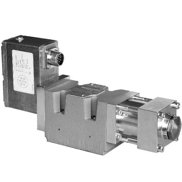 Közvetlen működtetésű szervo útszelep ráépített elektronikával (OBE) CETOP R05 ISO 4401-05 p max 350 bar Q max (lásd katalógus)