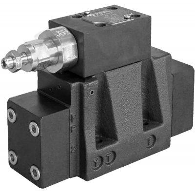 Kívülről vezérelhető elővezérelt háromutas nyömáscsökkentő szelep DZC5 CETOP P05 DZC5R ISO 4401-05 DZC7 ISO 4401-07 DZC8 ISO 4401-08 p max 350 bar Q max (lásd katalógus) A DZC* szelepek a csökkentett nyomás mennyiséget T ágon tartályba engedik. Terhelésnek megfelelő nyomásérték tartása. Beépítése csak primer ágba