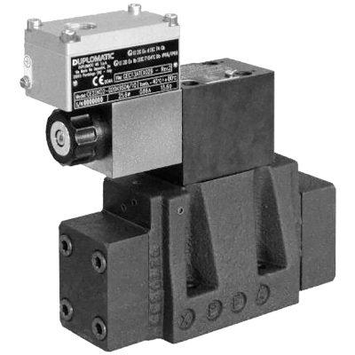 Robbanásbiztos kívülről vezérelhető elővezérelt háromutas nyomás-csökkentő szelep arányos mágnessel CETOP P05, R05, 07, 08 ATEX, IECEx, INMETRO DZCE5K* CETOP P05 DZCE5RK* ISO 4401-05 DZCE7K* ISO 4401-07 DZCE8K* ISO 4401-08