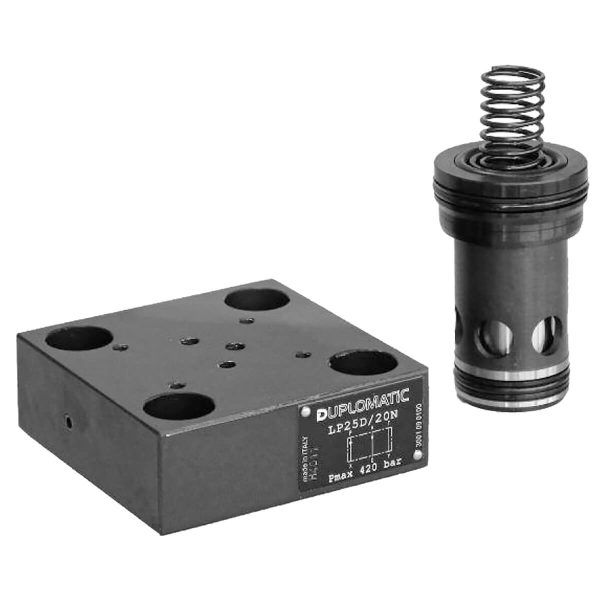 Ülékes modulelem, fedél és monitoring NG 16-25-32-40-50-63 p max 420 bar Q max (lásd katalógus)