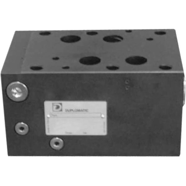 ISO 4401-03 p max 350 bar Q max 300l/min Közlap közvetlen vezérlésű két- és háromutas nyomáskülönbség állandósító, a P és az A vagy B ág között (4-8bar) CETOP 08 Proporcionális szelepekkel együtt használják, az áramlási sebesség szabályozására, nyomástól függetlenül