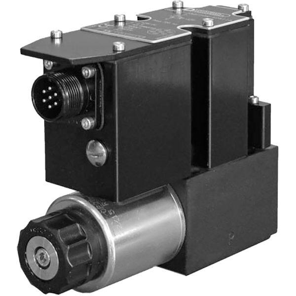 Alaplapos közvetlen vezérlésű nyomáshatároló, arányos mágnessel, ráépített elektronikával, nyitott vezérlő kör CETOP 03 ISO 4401-03 p max 350 bar Q max 2 l/min