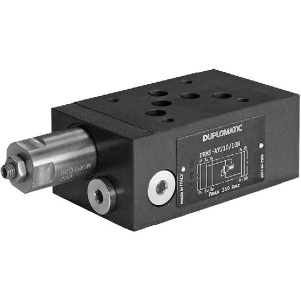 ISO 4401-05 p max 350 bar Q max 120l/min Közvetlen vezérlésű nyomáshatároló CETOP 05