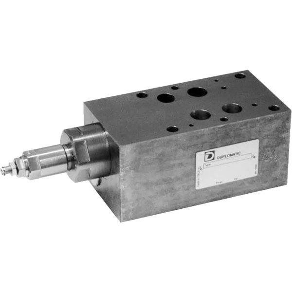 ISO 4401-07 p max 350 bar Q max 300l/min Közvetlen vezérlésű nyomáshatároló CETOP 07
