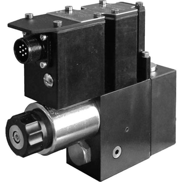 Alaplapos elővezérelt 3 utas nyomás csökkentő, arányos mágnessel, ráépített elektronikával CETOP 03 ISO 4401-03 p max 350 bar Q max 40 l/min