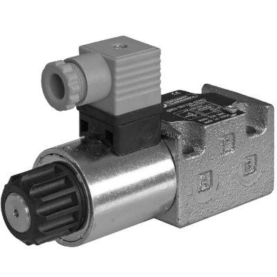 Két- és háromatus mennyiség szabályzó, arányos mágnessel CETOP 03, 05 ISO 6263-03 ISO 4401-05 p max 250 bar Q max 80 l/min