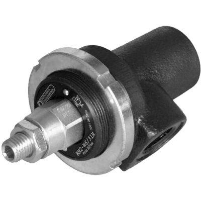 Nyomáshatároló szelep (peremes, csőbe építhető) p max 350 bar Q max (lásd katalógus) Két különböző méretben kapható: RM2-W közvetlen vezérlésű 50 l/min; RM3-W elővezérelt 75 l/min.