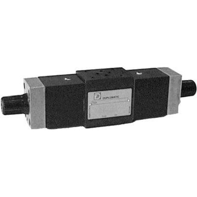 ISO 4401-03 p max 250 bar Q max (lásd katalógus) Az RPC1*/M egy nyomás és hőmérséklet kompenzált áramlás szabályzó szelep, ISO 4401 felfogatással ISO4401-03 szelepek alá könnyedén felszerelhető és az aktuátorok sebességét állíthatjuk vele igény szerint MDS3 szeleppel kombinálva gyors/lassú járat állítható vele