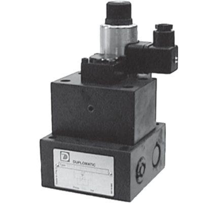 Két- és háromutas elővezérelt mennyiség szabályozó szelep, arányos mágnessel CETOP 06 Áramlás szabályzására és aktuátor sebességének szabályzására használható szelep Az áramlás sebessége fokozatmentesen állítható az arányos mágnesnek köszönhetően 3 vezérlő tartományban rendelhető: kettő progresszív görbével 72 l/ percig, harmadik differenciál görbével 30 l/percig