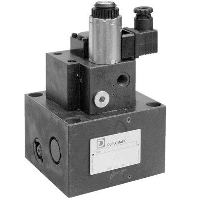 Két- és háromutas elővezérelt mennyiség szabályozó szelep, arányos mágnessel CETOP 07 ISO 6263-07 p max 250 bar Q max (lásd katalógus)