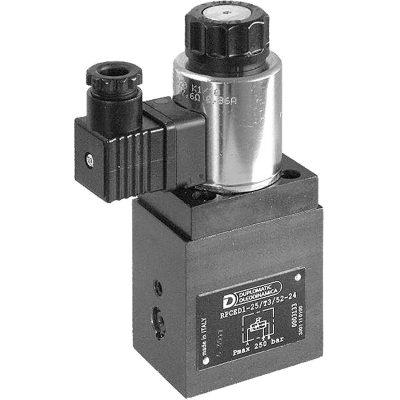 Háromutas mennyiség szabályozó szelep arányos mágnessel CETOP 03 ISO 6263-03 p max 250 bar Q max (lásd katalógus)