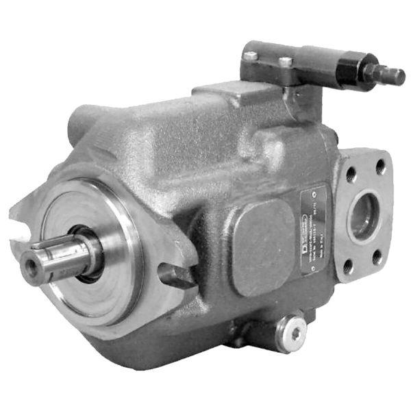 A VPPM szivattyúk változó folyadékszállítású axiál-dugattyús szivattyúk, nyitott áramkörökben történő alkalmazásra. Három különböző méretben kapható, maximális folyadékszállításai 29, 46, 73 és 87 cm3 / fordulat A szivattyú folyadékárama változtatható a forgási sebességgel valamint a rugótányér dőlési szögével. A maximális és a minimális szöget mechanikusan korlátozhatjuk megfelelő szabályozó csavarral. A szivattyúkat közepes-magas üzemi nyomásra tervezték (akár 280 bar állandó és 350 bar csúcsig). Tervezésüknek köszönhetően ezek a szivattyúk nagy axiális és radiális terhelést tudt viselni a tengelyen Általában ISO 3019/2 illesztő peremmel vannak ellátva, kivéve több tagos szivattyú egységek esetén a köztes vagy hátsó elemeket, amelyek SAE J744 2 lyukú peremmel és SAE J744 tengellyel érhetők el Hét különböző típusú szabályozó vezérléssel rendelhetőek, mindegyik a kívánt alkalmazásra igazítva