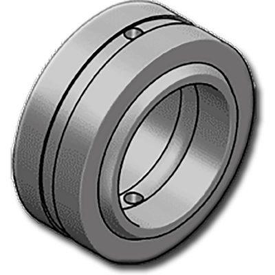 A GE..HH sorozat gömbcsuklós csapágyai belső és külső edzett acél gyűrűből készülnek. A külső gyűrű tengelyirányban kettéosztott a belső gyűrű beszereléséhez.Karbantartást igénylő csapágy, kifejezetten nagy terhelésekre és erőkre tervezve.