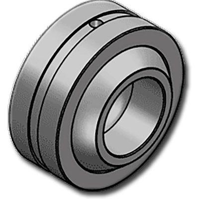 A GE..HHOF sorozatgömbcsuklós csapágyaugyanazokat a jellemzőket mutatja, mint a GE..HH típus, de a belső gyűrű nagyobb és a külső átmérő nagyobb, szélesebb fordulási szöggel rendelkezik. Ez a fajtacsapágy karbantartást igényelés különösen olyan alkalmazásoknál ajánlott,ahol szélesebb fordulási szög szükséges.