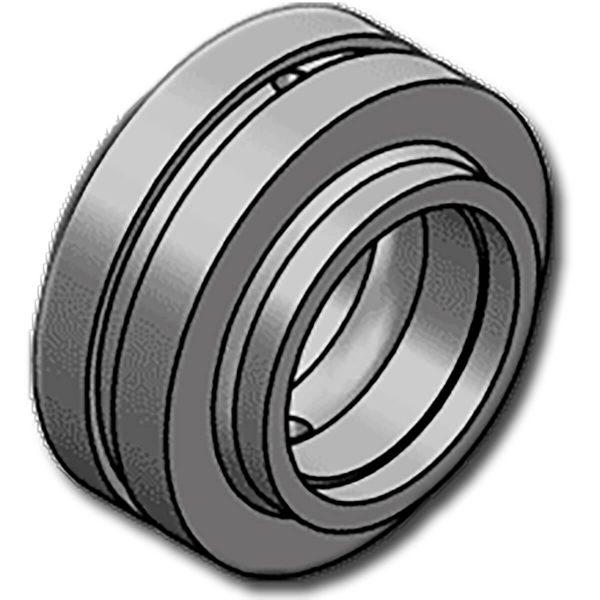 A GE..HHOL sorozatgömbcsuklós csapágyaibelső és külső edzett acélgyűrűből állnak. A külső gyűrű tengelyirányban osztott a belső gyűrű szereléséhez. A GE-HH sorozattól a külső részek hengerese meghosszabbításában különbözik, a furat átmérője mindig a belső gyűrű szélességének felel meg. Ez a sorozatelsősorban a DIN24338 előírások betartására készült.Megköveteli a karbantartást és különösen ajánlott a CETOP szerint gyártott hidraulikus munkahengerekhez, a DIN24333, DIN24336, ISO6020 / 1 és ISO 6022 szabványoknak megfelelően.