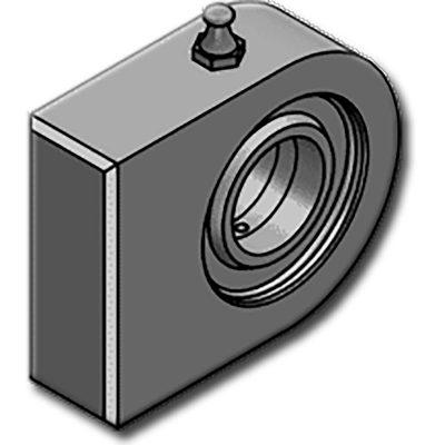 A HBJE … N sorozatgömbcsuklója S355JR UNI EN 10025 acélból készül. Téglalap alakú talppal, HBJE..C-n található központosító csap nélkül. ISO 12240-1 szabvány alapján gyártott csapágyakkal szerelt. 20-as átmérőtől felfele kenést igényel.Nehéz ipari felhasználásra szánt,munkahengerekaljára. A csapágy kivehető.