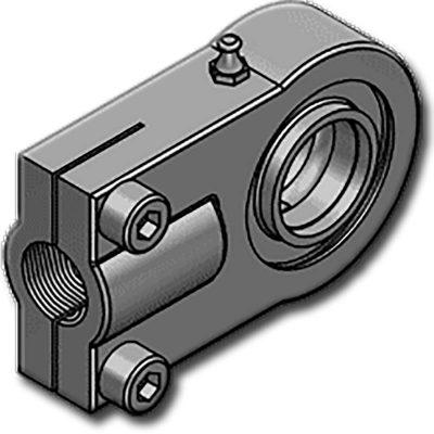 A HBJEPR..CE sorozatúgömbcsukló rögzítő menete hosszabbmint a HBJEPR..N és a HBJEPR..U sorozaté.Zsírzó gombbalellátott típus.. Ezt a típust a DIN 24338 – ISO 6982 szabványnak megfelelően tervezték. Abelső csapágy(az ISO 12240-1 W sorozat szerint)hengeres, mindkét oldalonúgy van kialakítva, hogya furat átmérője megegyezzen a csapágy szélességével. C45 acélból készül, 70mm felett öntöttvasból. Ajánlott a CETOP RP 58 H, a DIN 24333, a DIN 24336, az ISO 6020/1 és az ISO 6022 szabvány szerint gyártottmunkahengerekhez, de a többi típushoz is használható.