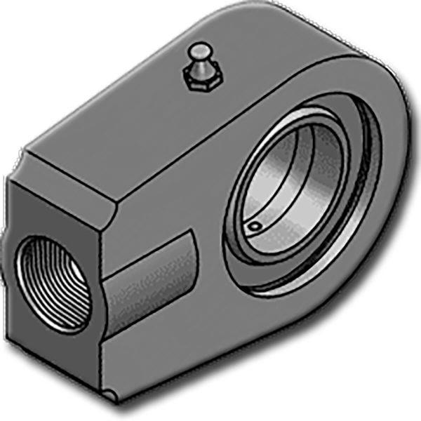A HBJEPR..N sorozatúgömbcsuklók belső menetes csatlakozóvalrendelkeznek. C45 acélból készül, 70mm felett öntöttvasból. Csapágyazás az ISO 12240-1 E sorozat szerint.