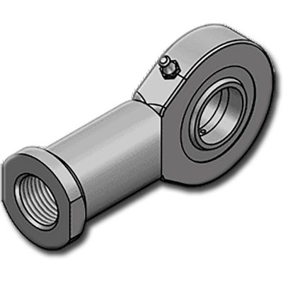 A HBJFE..DO szériához hasonlóan horganyzott C45-ből, ISO 12240-4 sorozat E típusú M szabvány szerint készülnek,zsírzó gombbal ellátva. Lehetséges 2RS kivitelben is rendelni.Belső menettel!