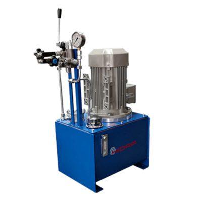 Hidraulikus tápegység rendszer elemei és alkatrészei