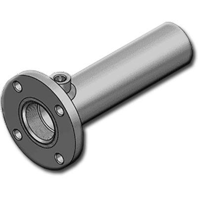 A HTFGS szériamenettel és elülső karimás felfogatássalellátott hengercső. Alkalmasegyszereséskettős működésű munkahengerekgyártásához. HHSF széria munkahengerek alapja.