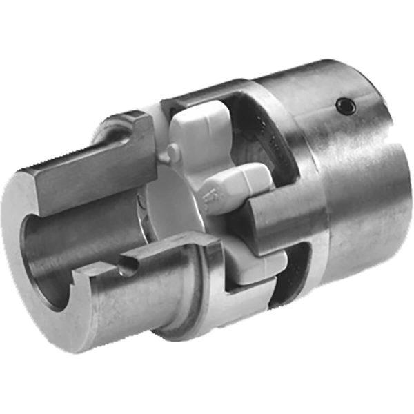 Torziós szempontból rugalmas, karbantartásmentes, jó dinamikai tulajdonságokkal rendelkezik Rezgéscsökkentő kialakítás Tengelyirányban dugaszolható Kompakt kialakítás / alacsony lendkerék hatás A betétek eltérő elasztomer keménységgel rendelhetők Furat kialakítás lehet reteszes, kúpos (1: 5/1: 8), és fogazott Rendelhető: alumínium, öntöttvas, szinterezett acél és acél ATEX tanúsítvány Alapprogramban foglalt termékek raktárról (lásd a 152. oldalt) Egyedi megmunkálás kérésre